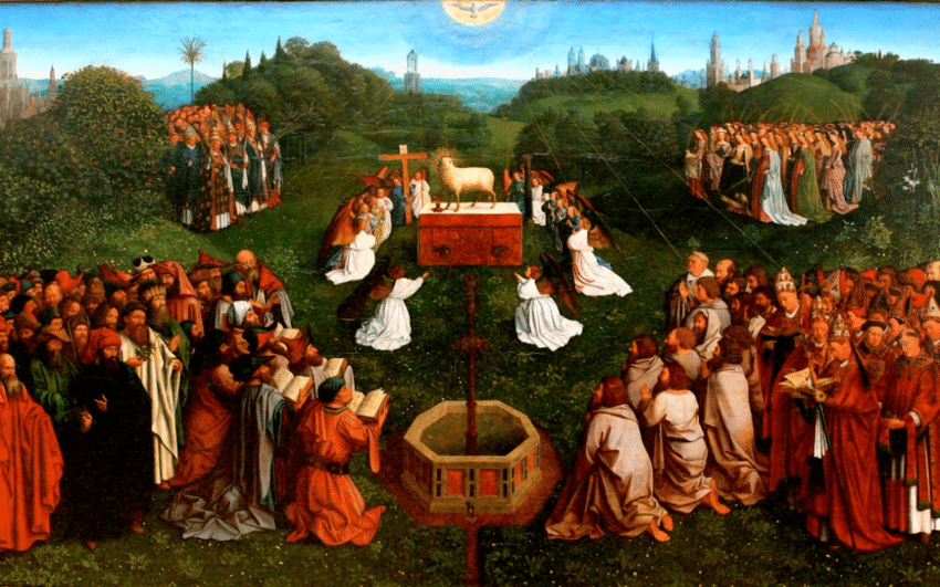 The-Adoration-of-the-Lamb